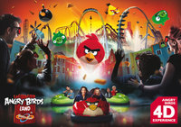 Angry Birds Land - Thorpe Park Resort's brand new attraction flies in