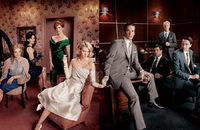 Brits 'Don' the Mad Men look