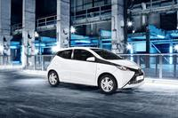 Toyota Aygo off the mark