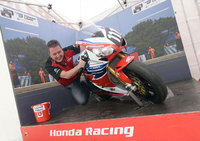 Honda Racing brings Power of Lean experience to the Isle of Man TT