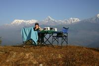 It's business as usual for trekkers in Nepal