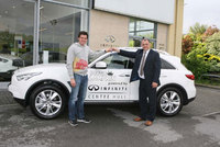 Infiniti announces tie-up with Dougie Lampkin
