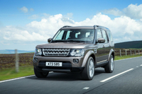 New technology and feature content for Land Rover Discovery