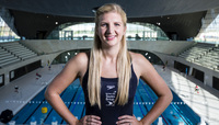 Becky Adlington reveals swimming can make you happy