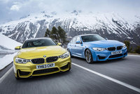 The new BMW M3 Saloon and BMW M4 Coupe