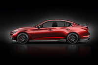 Infiniti Q50 Eau Rouge - Global dynamic debut at Festival of Speed