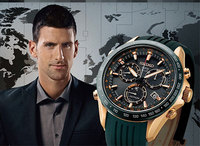 The Seiko Astron GPS Solar Chronograph, made to measure for Novak Djokovic