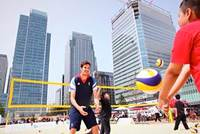 The Beach is Back at Canary Wharf