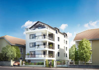 Exclusive development in Annecy with shopping and sailing on the doorstep