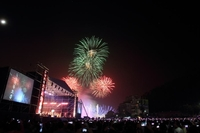 Taiwan's Sun Moon Lake International Fireworks and Music Festival