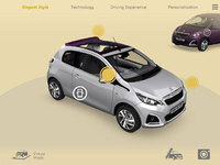 Animate your Peugeot 108 with creative new 3D and virtual reality app
