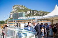 Chief Minister officially breaks ground for World Trade Center Gibraltar