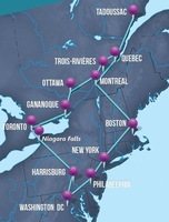 Discover the United States and Canada on a guided bus tour