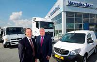 Mercedes-Benz dealers merge to create £160m truck and van business