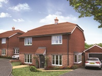 Stunning new homes now on sale at Lucastes in Haywards Heath