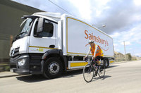 Sainsbury's launches London lorry designed for cycle safety