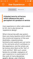 App helps to demystify User Experience (UX) industry jargon