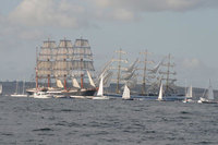 Cornwall braced for 100,000 visitors to its mighty Falmouth Tall Ships Regatta