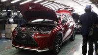 Lexus commences production of new NX crossover