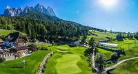 Golf and relaxation in the heart of the Dolomites