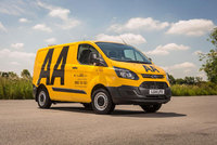 Ford Transit on patrol with the AA