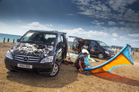 O'Neill rules the waves with Mercedes-Benz Vito Sport
