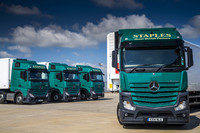Staples reaps savings from first crop of Euro VI Mercedes-Benz Actros
