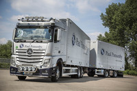 Ponsonby logs on to Mercedes-Benz New Actros
