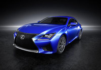 Lexus RC F readied for launch