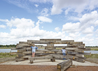 Eagle-ly awaited bird screens installed at Great Kneighton Country Park