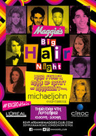 Maggie's and MichaelJohn host 80s Big Hair Night