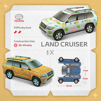 Toyota manufacturing made simple with downloadable paper model kits