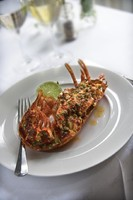 Enjoy perfectly cooked lobster