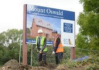 David Wilson starts work on luxury homes at Mount Oswald, Durham