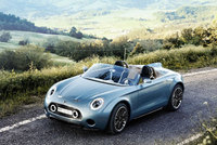 MINI Superleggera Vision makes UK debut