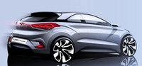 Hyundai provides a glimpse of the New Generation i20 Coupe