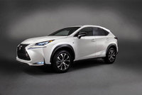 New Lexus NX 300h gets a grip with E-Four all-wheel drive