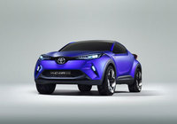 Toyota to present new C-HR Crossover Concept at the Paris Motor Show