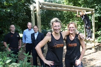 South West health club teams up with timber merchant to create region's toughest boot camp