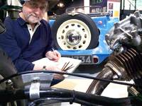 Learn to photograph & draw cars at the Heritage Motor Centre