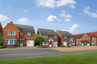 Barratt opens showhome at Milburn Green, Burnopfield