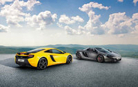 McLaren 625C Coupe and Spider