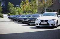 Slimming World fleet shapes up with Lexus hybrids