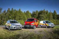 All-new Ford Transit Courier recruited by the Scottish Fire and Rescue Service