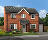 New four-bedroom South Normanton home will ensure buyers don't struggle for space this Christmas