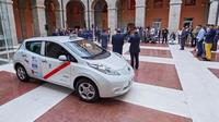 Nissan delivers first all-electric taxis to Barcelona and Madrid