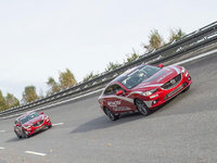 Mazda6 diesels chase speed records