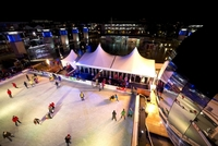 Get your skates on for festive fun at the at-Bristol ice rink!