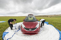 Nissan creates world's biggest Zorb… with a car inside