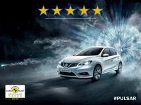 New Pulsar is third Nissan to gain maximum EuroNCAP score in 2014